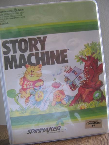 computer game called Story Machine