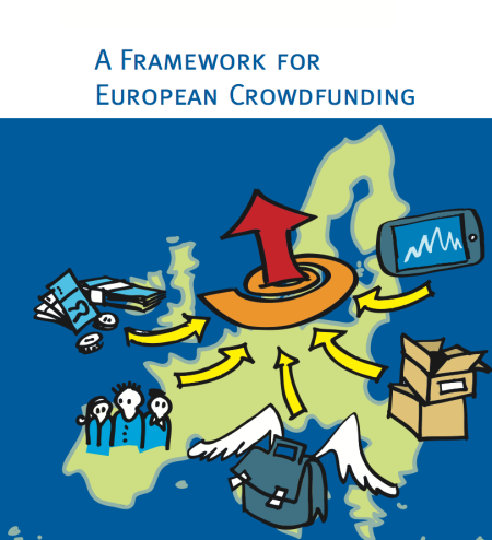 front page of the Framework for European Crowdfunding report