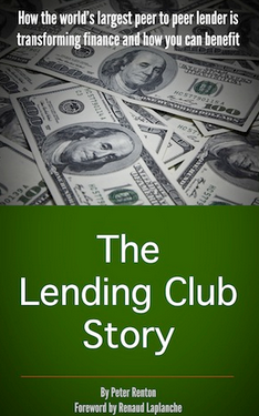 book cover for The Lending Club Story
